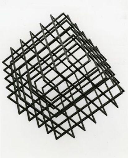 Galerie Quadri - Henri Gabriel - Cube cinétique