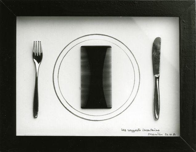 Galerie Quadri - Marcel Mariën - Les rapports incertains