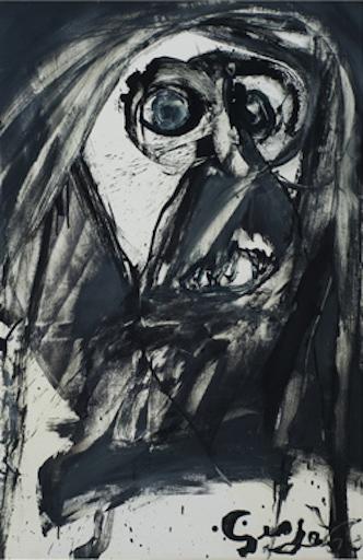 Galerie Quadri - Serge Vandercam - L'homme de Tollund