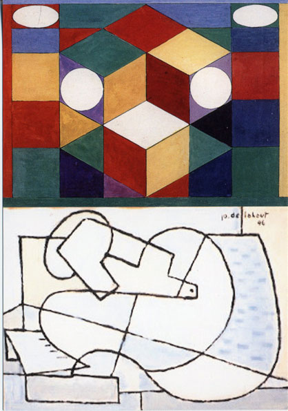 Galerie Quadri Edition - Jo Delahaut - Marcel-Louis Baugniet