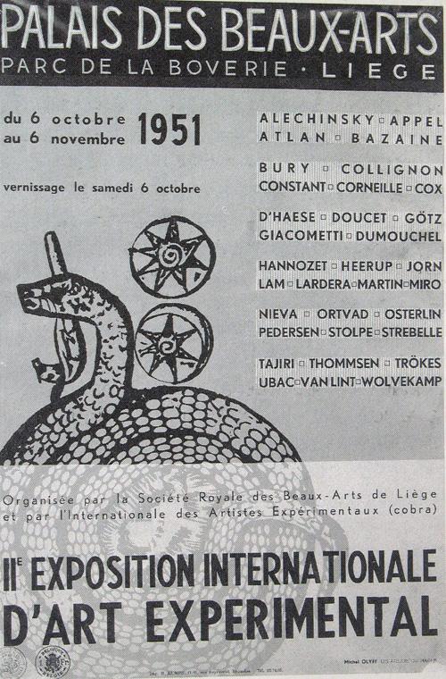 Galerie Quadri Edition - Michel Olyff - Affiche Cobra