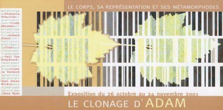Galerie Quadri Edition - Le clonage d Adam