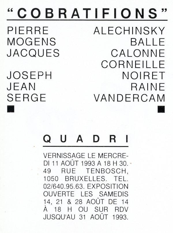 Galerie Quadri Edition - Cobratifions