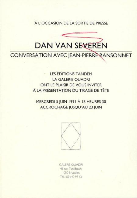 Galerie Quadri Edition - Dan Van Severen