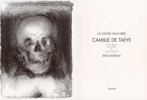 Galerie Quadri Edition - Camille De Taeye - La danse macabre