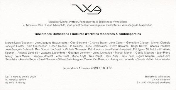 Galerie Quadri Edition - Bibliotheca Durantiana