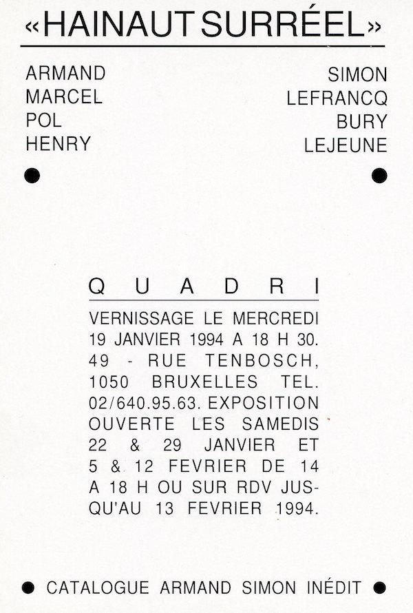 Galerie Quadri Edition - Hainaut Surréel