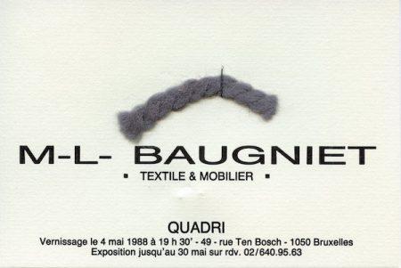 Galerie Quadri Edition - Marcel-Louis Baugniet