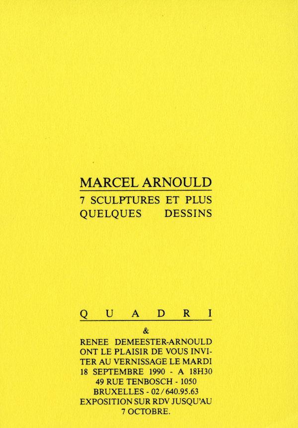 Galerie Quadri Edition - Marcel Arnould