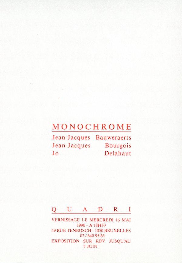 Galerie Quadri Edition - Monochrome