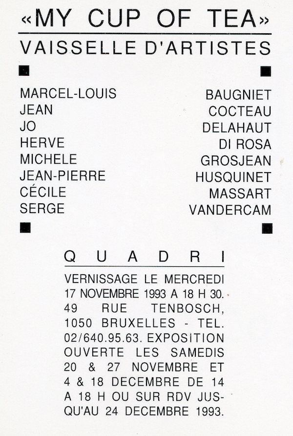 Galerie Quadri Edition - My cup of tea