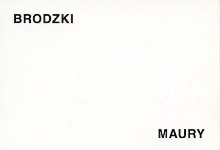 Galerie Quadri Edition - Philippe Brodzki - Jean-Pierre Maury