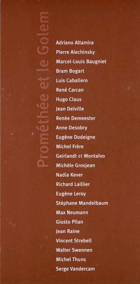 Galerie Quadri Edition - Prométhée et le Golem