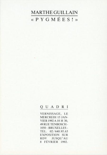 Galerie Quadri Edition - Marthe Guillain