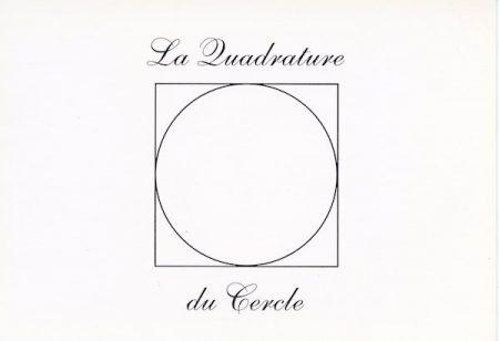 Galerie Quadri Edition - La quadrature du cercle