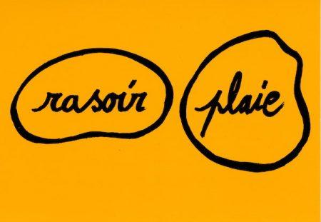 Galerie Quadri Edition - Dada & surréalisme - Le rasoir dans la plaie
