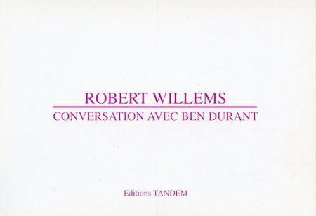 Galerie Quadri Edition - Robert Willems