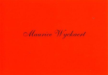 Galerie Quadri Edition - Maurice Wyckaert