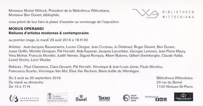 Galerie Quadri Edition - Modus operandi
