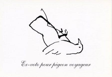 Galerie Quadri Edition - Michèle Grosjean - Ex-voto pour pigeon voyageur