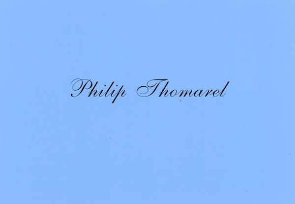 Galerie Quadri Edition - Philip Thomarel