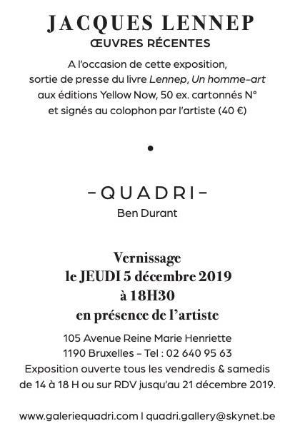 Galerie Quadri Edition Jacques Lennep