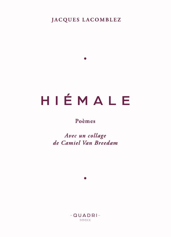 Galerie Quadri Editions - Jacques Lacomblez - Hiémale
