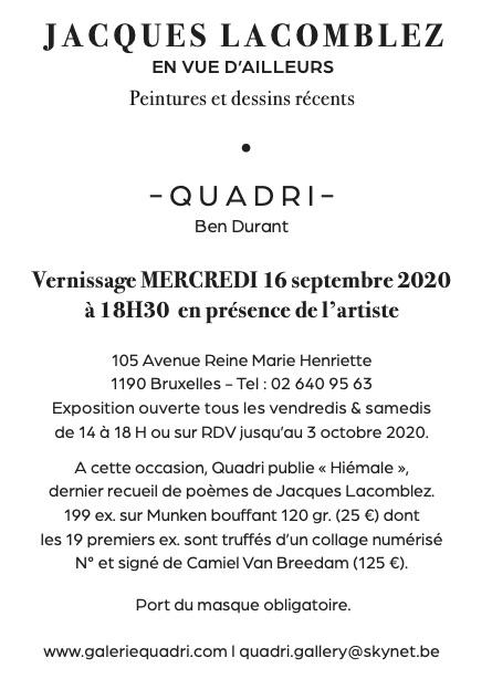 Galerie Quadri - Jacques Lacomblez